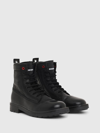 Diesel - D-THROUPER DBB W Z, Noir - Bottines - Image 2