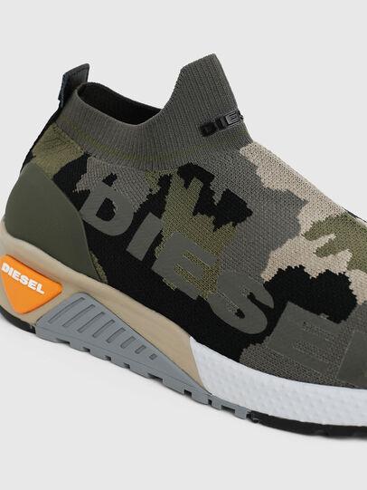 Diesel - S-KB ATHL SOCK II, Vert Camouflage - Baskets - Image 4
