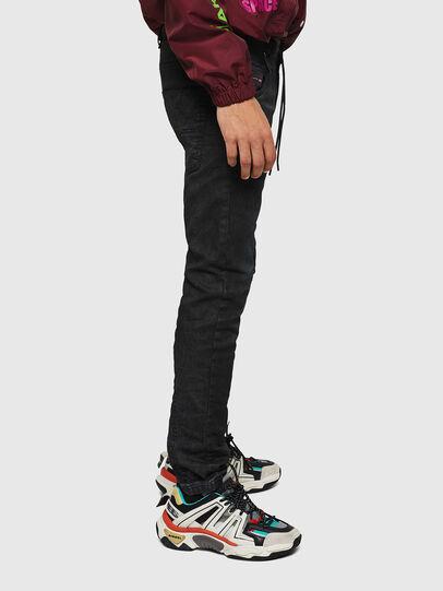 Diesel - Krooley JoggJeans 069GP, Noir/Gris foncé - Jeans - Image 6