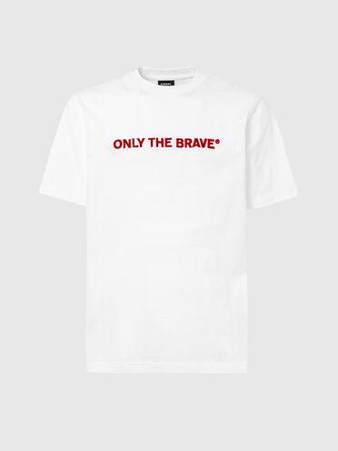 T-shirt à capuche avec broderie au point de croix