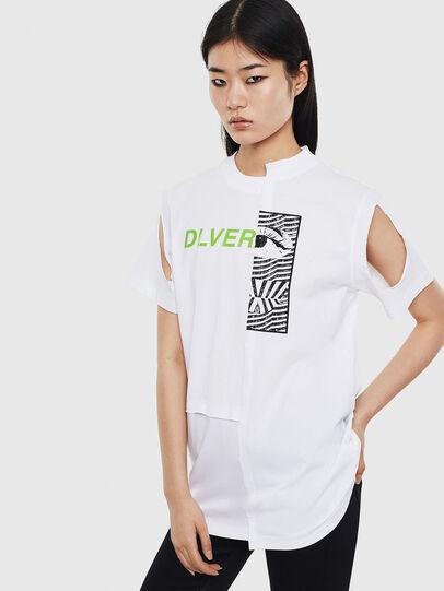 Diesel - T-GOMEZ, Blanc - T-Shirts - Image 1