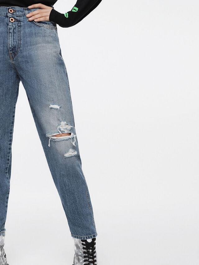 Diesel - Alys 084ZE, Bleu Clair - Jeans - Image 4