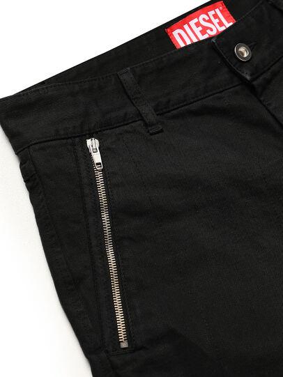Diesel - GR02-P303, Noir - Shorts - Image 4