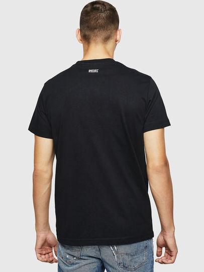 Diesel - T-DIEGO-B12, Noir - T-Shirts - Image 2