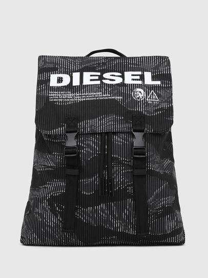 Diesel - VOLPAGO BACK, Noir - Sacs à dos - Image 1
