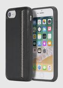 ZIP BLACK LEATHER IPHONE 8 PLUS/7 PLUS/6s PLUS/6 PLUS CASE, Noir - Coques