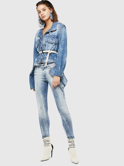 Diesel - Slandy 083AR, Bleu Clair - Jeans - Image 5