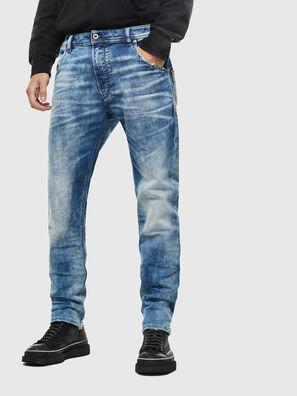 Krooley JoggJeans 087AC, Bleu moyen - Jeans