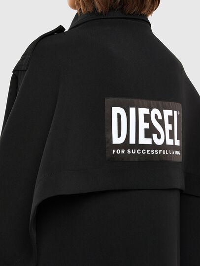 Diesel - W-TILLER, Noir - Vestes d'hiver - Image 5