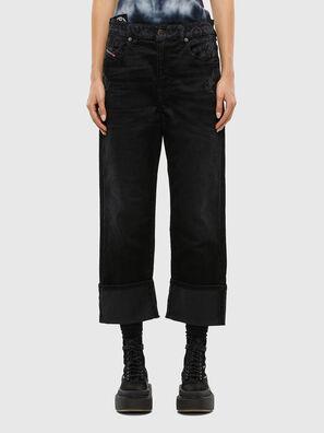 D-Reggy 009LC, Noir/Gris foncé - Jeans