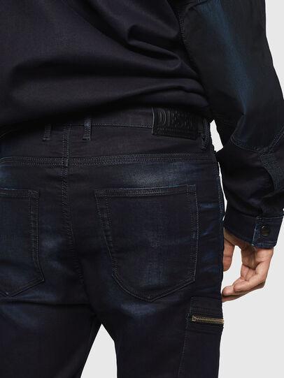 Diesel - D-Vider JoggJeans 069IC, Bleu Foncé - Jeans - Image 4