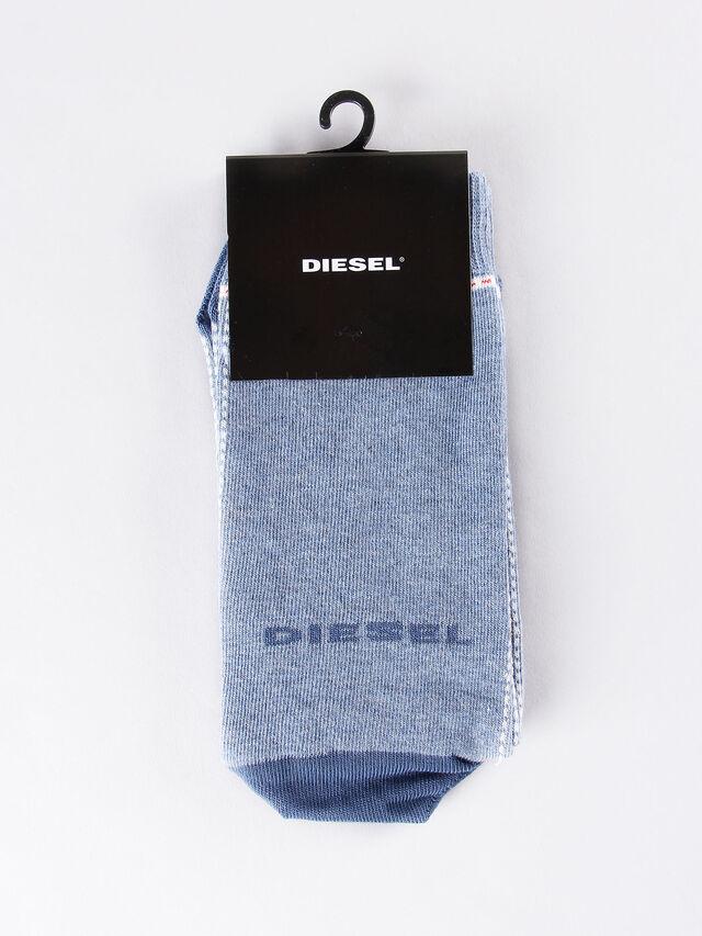 Diesel - SKM-RAY, Bleu Clair - Chaussettes - Image 1