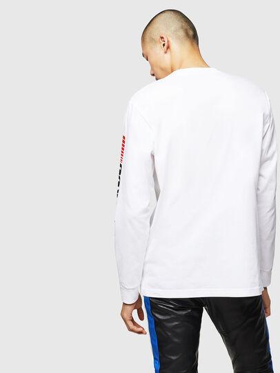 Diesel - ASTARS-T-JUST-LONG, Blanc - T-Shirts - Image 2