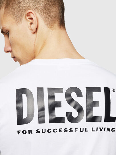 Diesel - LR-T-DIEGO-VIC, Blanc - T-Shirts - Image 5