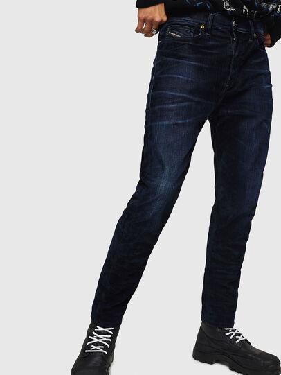 Diesel - D-Vider 0091U, Bleu Foncé - Jeans - Image 1