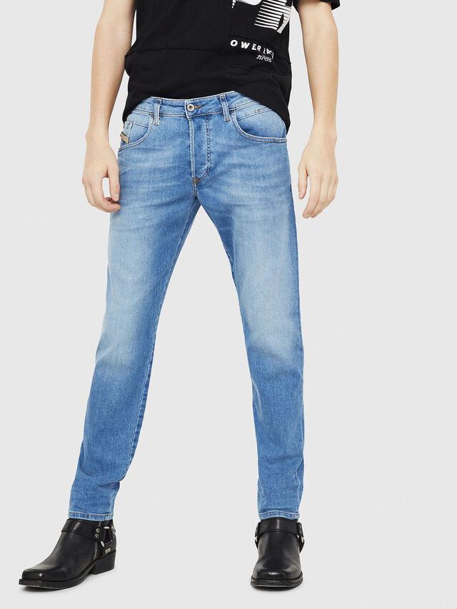 Diesel - D-Bazer 087AQ, Bleu Clair - Jeans - Image 1