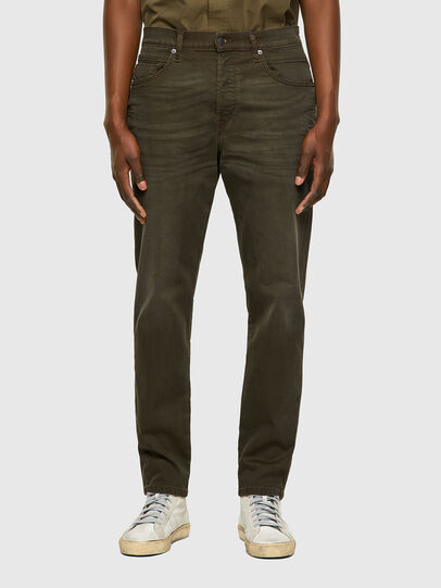 Diesel - D-Fining-Chino 0699P, Vert Militaire - Jeans - Image 1