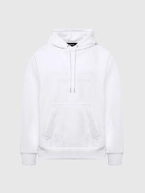 S-GIRPO-HOOD, Blanc - Pull Cotton
