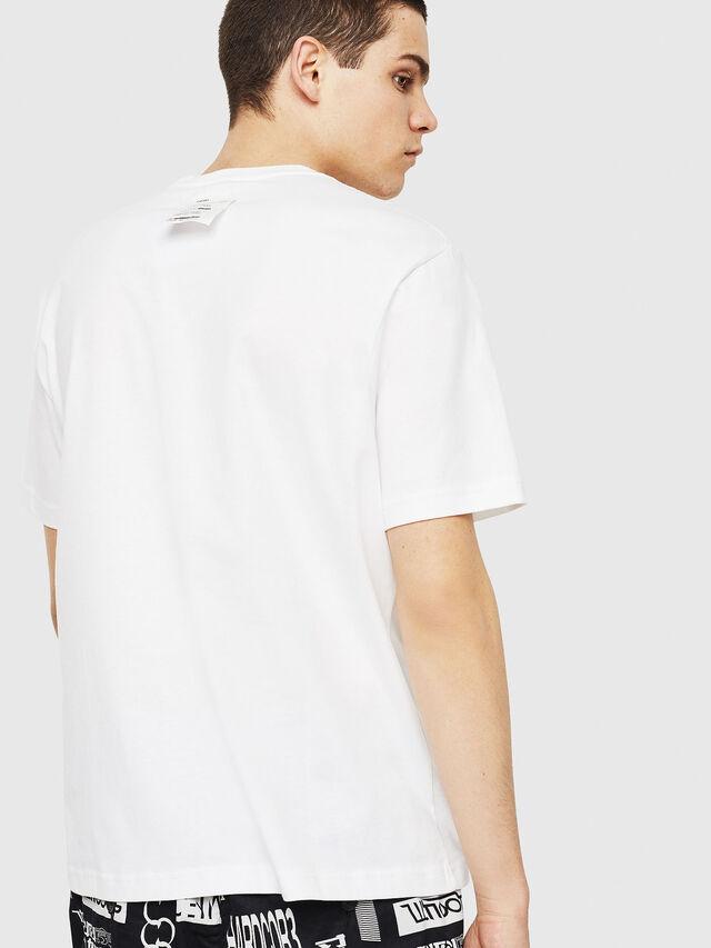 Diesel - T-JUST-Y24, Blanc - T-Shirts - Image 2