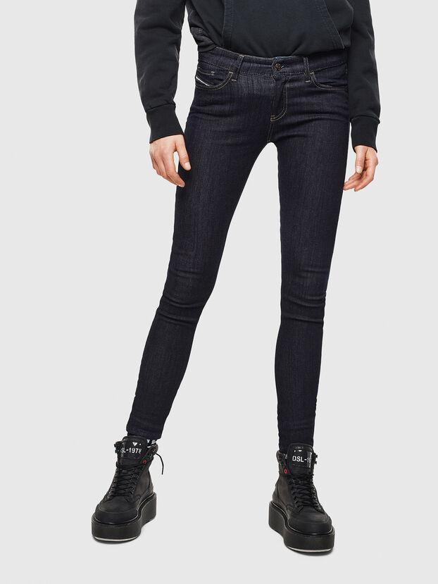 Slandy 0813C, Bleu Foncé - Jeans