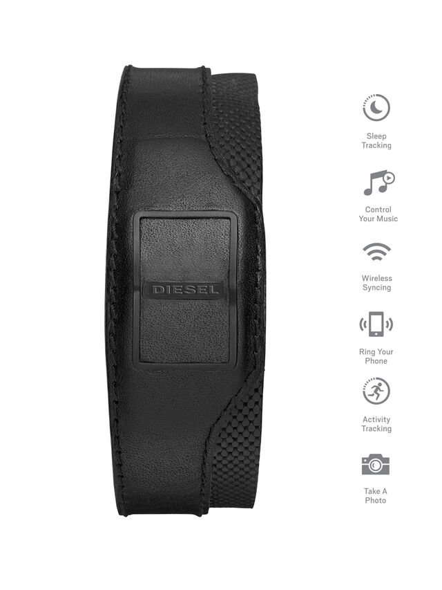 Diesel DA1201, Noir - Bracelets - Image 1