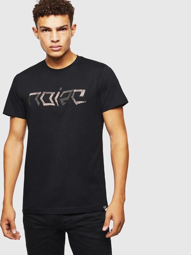 T-DIEGO-BAGH, Noir - T-Shirts
