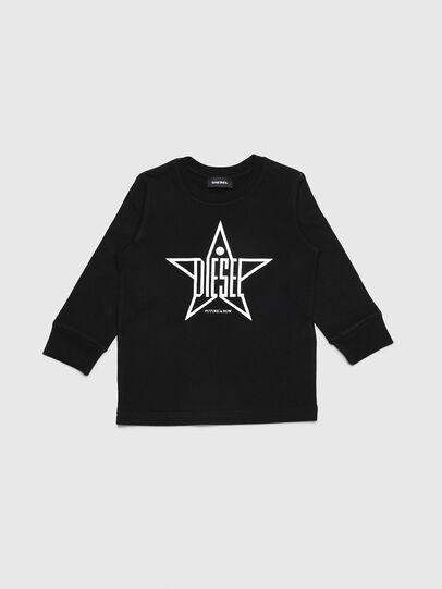 Diesel - TDIEGOYHB-ML-R, Noir - T-shirts et Hauts - Image 1