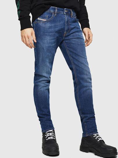 Diesel - Thommer 082AZ, Bleu Foncé - Jeans - Image 1