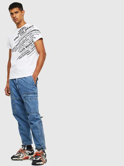 Diesel - T-DIEGO-S3, Blanc - T-Shirts - Image 4