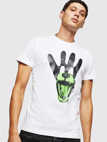 Diesel - T-DIEGO-B18, Blanc - T-Shirts - Image 1