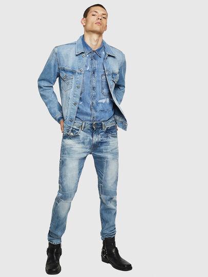 Diesel - Thommer 0092F, Bleu Clair - Jeans - Image 6