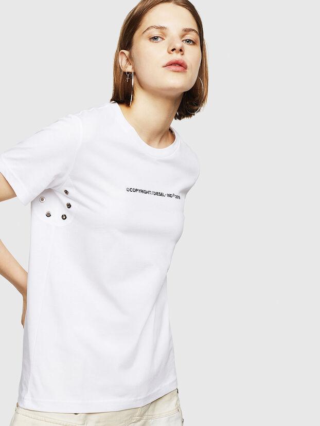 T-SILY-WR, Blanc - T-Shirts