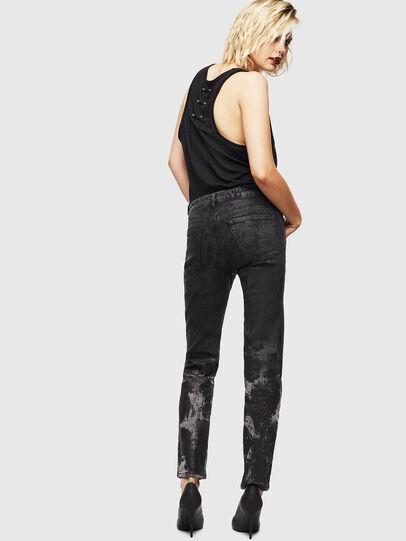 Diesel - D-Ollies JoggJeans 084AZ, Noir/Gris foncé - Jeans - Image 2