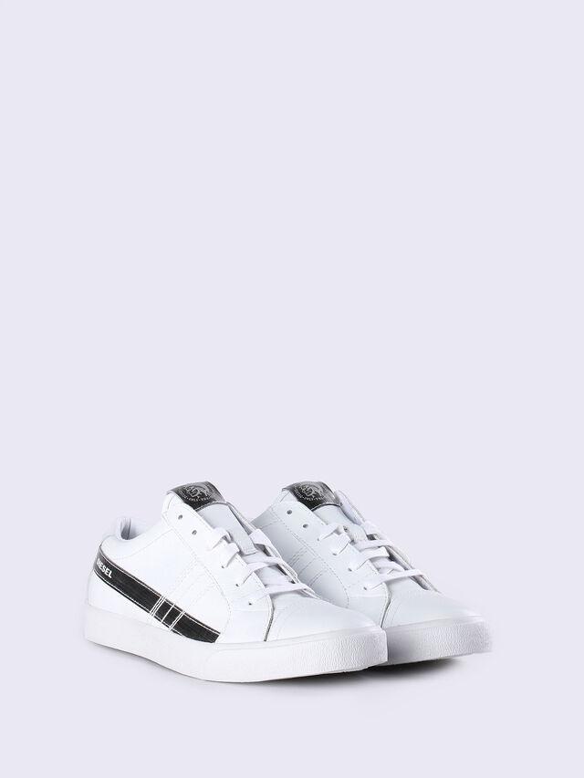 D-STRING LOW W, Blanc/Argent