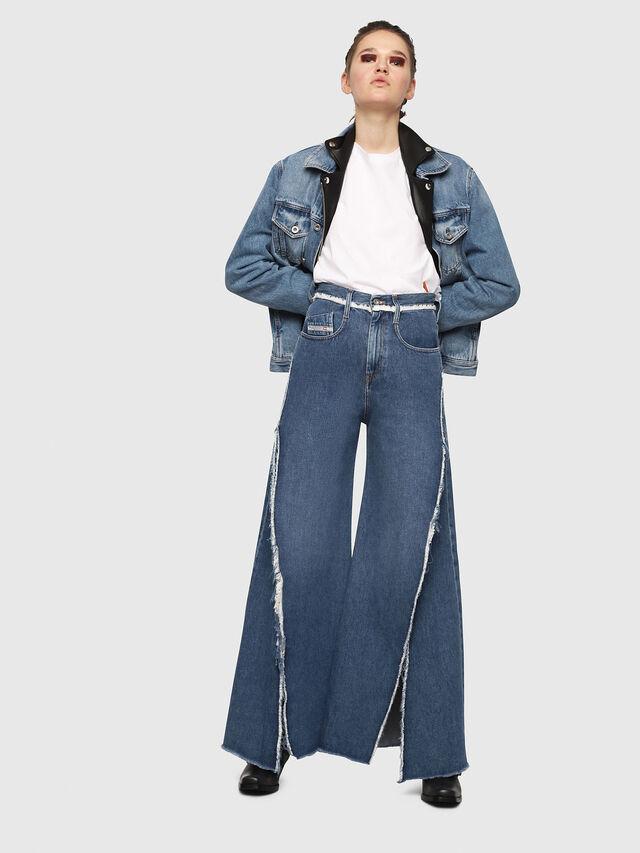 Diesel - D-Izzier 080AN, Bleu moyen - Jeans - Image 4