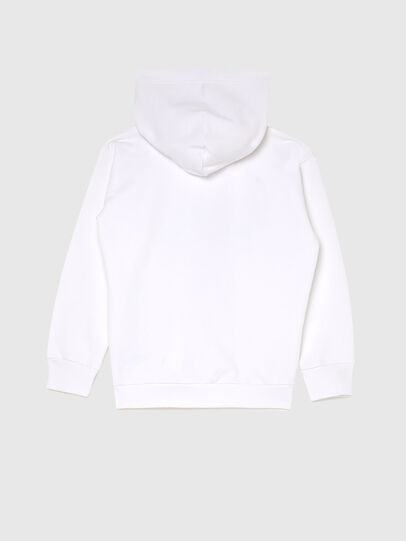 Diesel - SDIVISION-LOGOX OVER, Blanc - Pull Cotton - Image 2