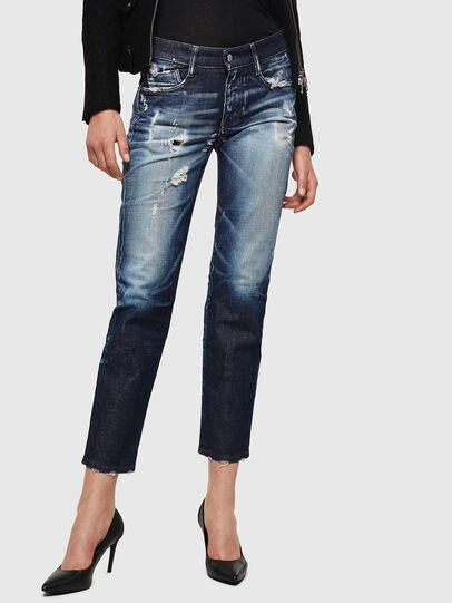 Diesel - D-Rifty 0092I, Bleu Foncé - Jeans - Image 1