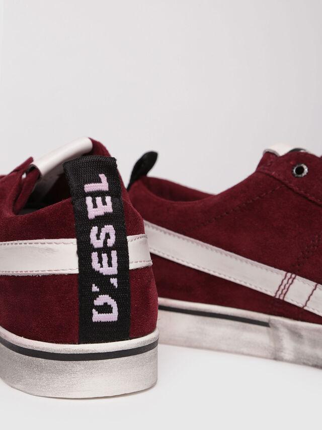 Diesel - D-VELOWS LOW LACE, Rouge - Baskets - Image 4