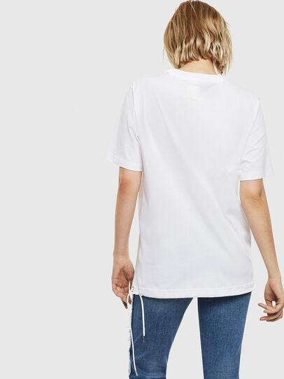 Diesel - T-HUSTY, Blanc - T-Shirts - Image 5