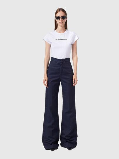 Diesel - D-Ebbey JoggJeans® 0CEAT, Bleu Foncé - Jeans - Image 5