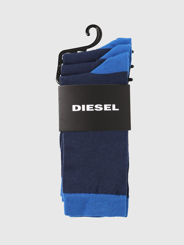 Diesel - SKM-RAY-THREEPACK, Bleu - Chaussettes - Image 2