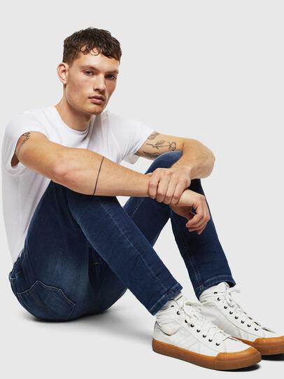 Diesel - Thommer JoggJeans 088AX, Bleu Foncé - Jeans - Image 4