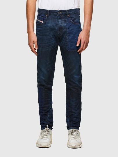 Diesel - D-Strukt JoggJeans® 069TY, Bleu Foncé - Jeans - Image 1
