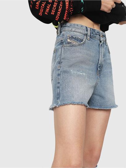 Diesel - DE-EISELLE, Jean Bleu - Shorts - Image 3