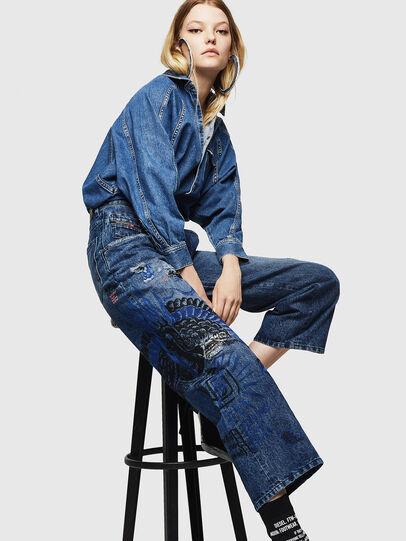 Diesel - Widee 0092Z, Bleu moyen - Jeans - Image 4