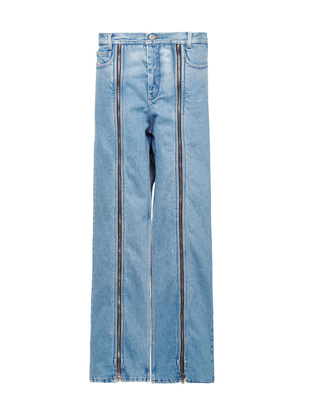 Diesel - SOWL01, Bleu Clair - Pantalons - Image 1