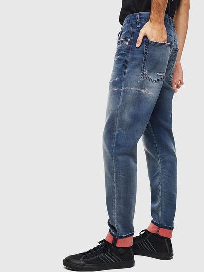 Diesel - D-Vider JoggJeans 069LW, Bleu Foncé - Jeans - Image 5