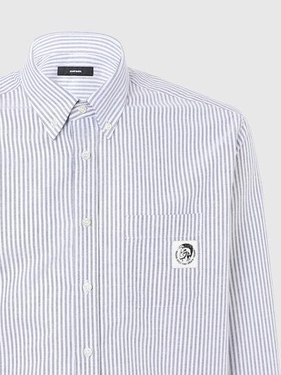 Diesel - S-JAMES-A, Bleu/Blanc - Chemises - Image 3