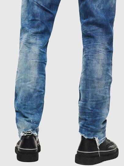 Diesel - Krooley JoggJeans 087AC, Bleu moyen - Jeans - Image 5