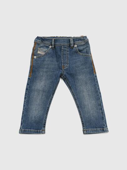 Diesel - KROOLEY-NE-B-N, Bleu moyen - Jeans - Image 1